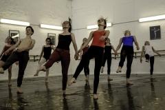 Danse contemporaine au conservatoire de danse de bruxelles. Chorégrpahe: Inès Cera