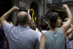 LLibertat PRESOS politics! IV Girona, july 2018.