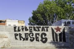 Llibertat preses. Torroella de Montgri, july 2018.