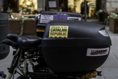 Welcome to the CATALAN REPUBLIC. Girona, july 2018.