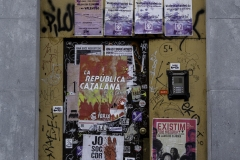 La Republica CATALANA. Girona, july 2018.