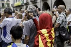 LLibertat PRESOS politics! V Girona, july 2018.