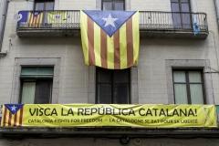 Visca la republica catalana ! Girona, july 2018.