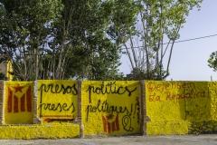 Defensem la República! Torroella de Montgri, july 2018.