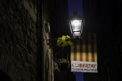 Llibertat presos politics. Girona, july 2018.